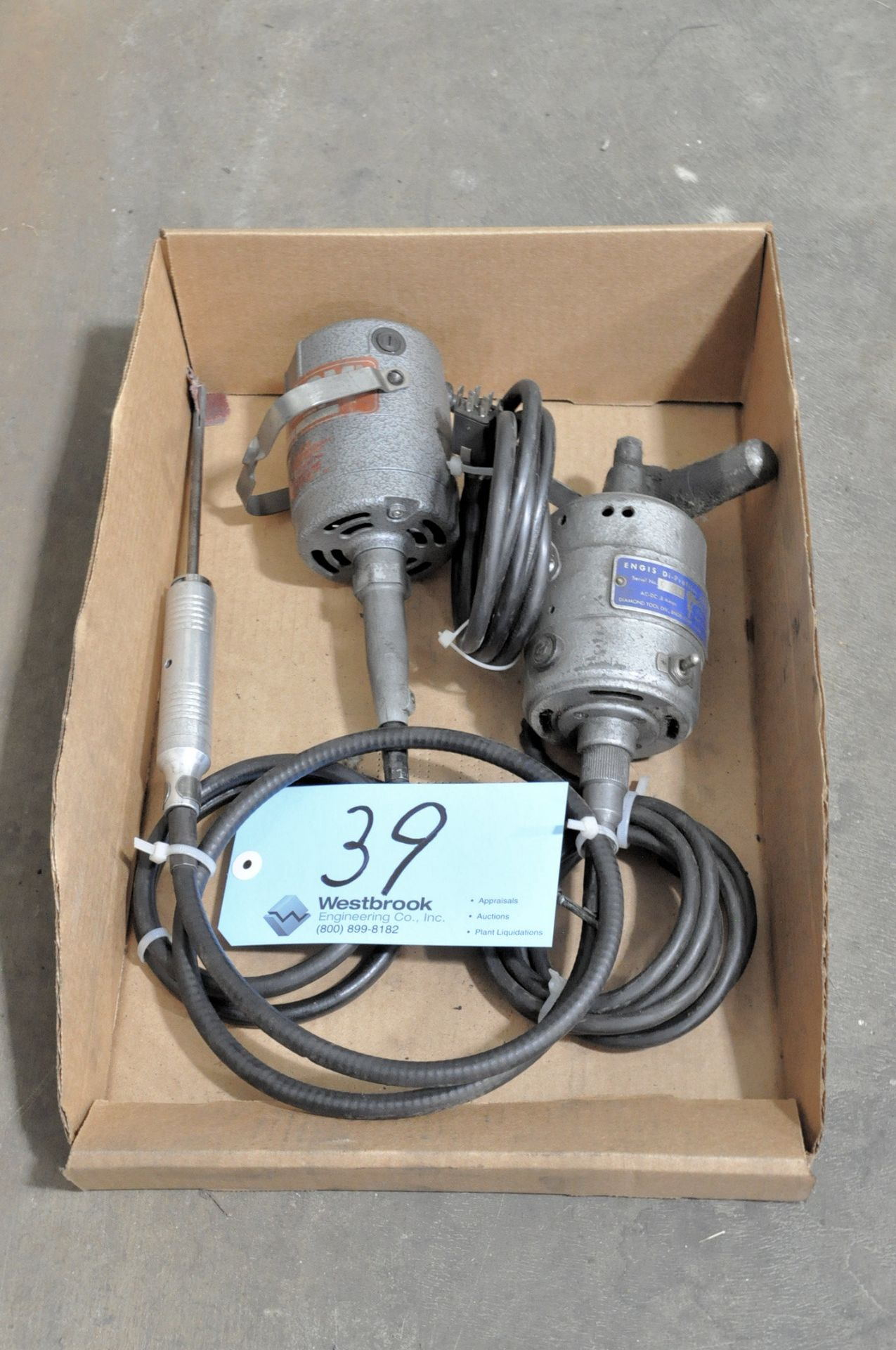 Lot 39 - FOREDOM Shaft Motor with ENGIS Di-Profiler in (1) Box