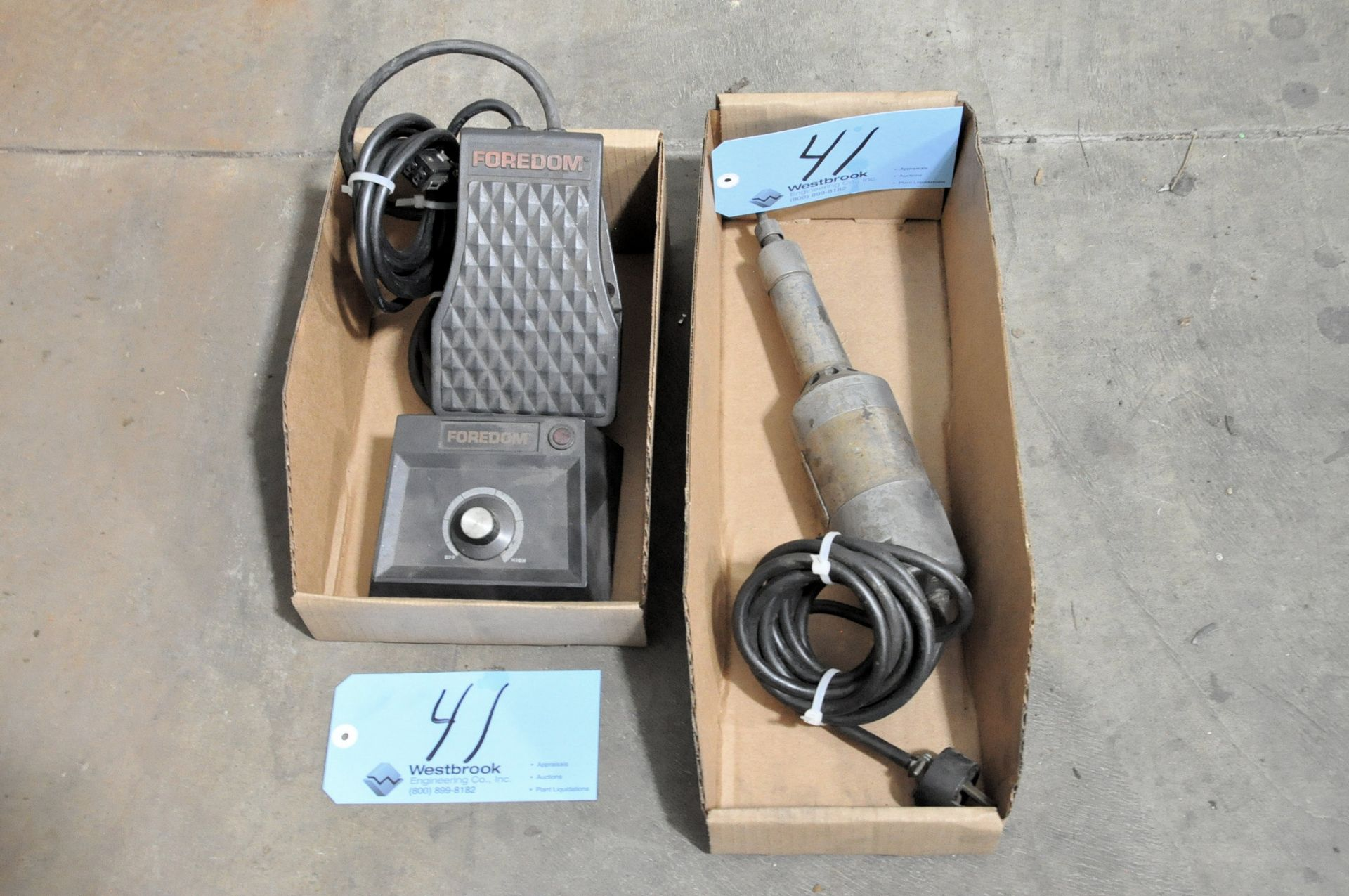Lot 41 - INGERSOLL RAND Die Grinder with FOREDOM Speed Control in
