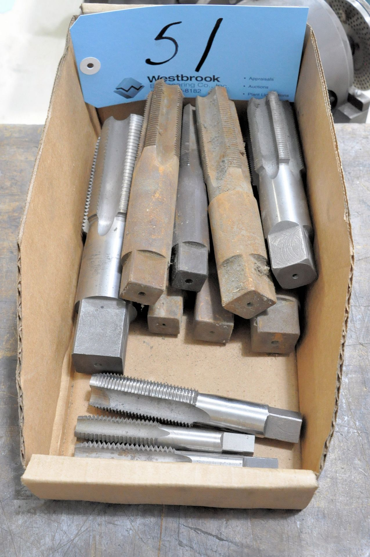 Lot 51 - Lot-Large Taps in (1) Box