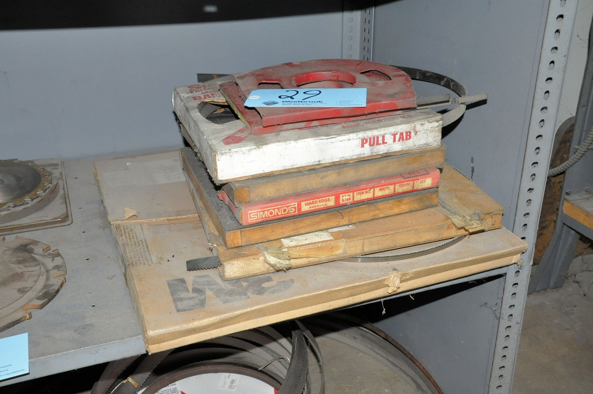 Lot 29 - Lot-Band Saw Blades in (1) Stack