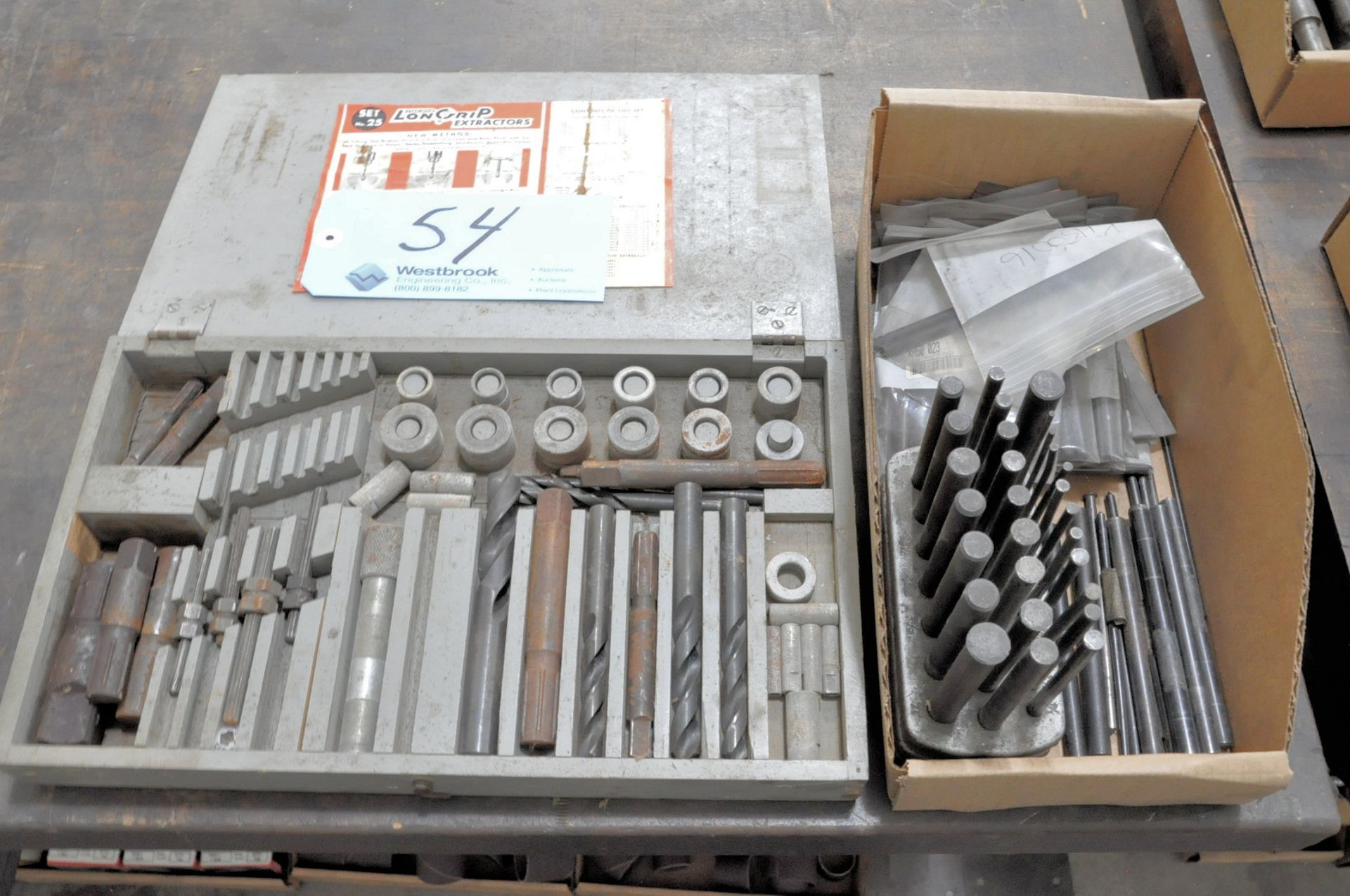 Lot 54 - Extraction Set with Drill Blanks in (1) Box
