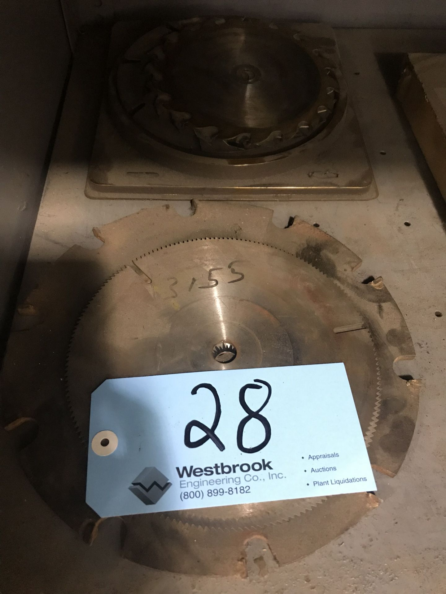 Lot 28 - Lot-Asst'd Saw Blades in (2) Stacks
