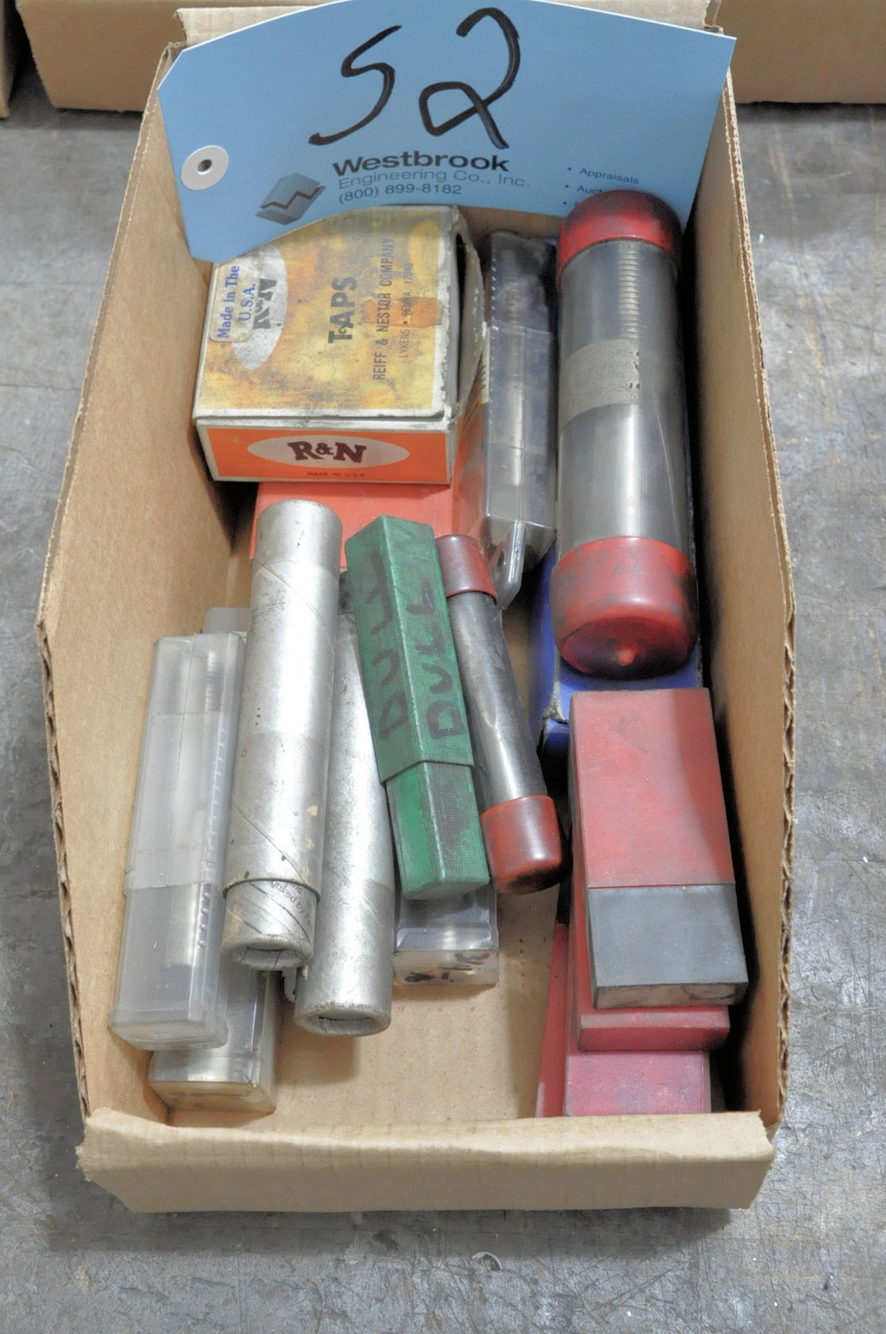 Lot-Packaged Taps in (1) Box