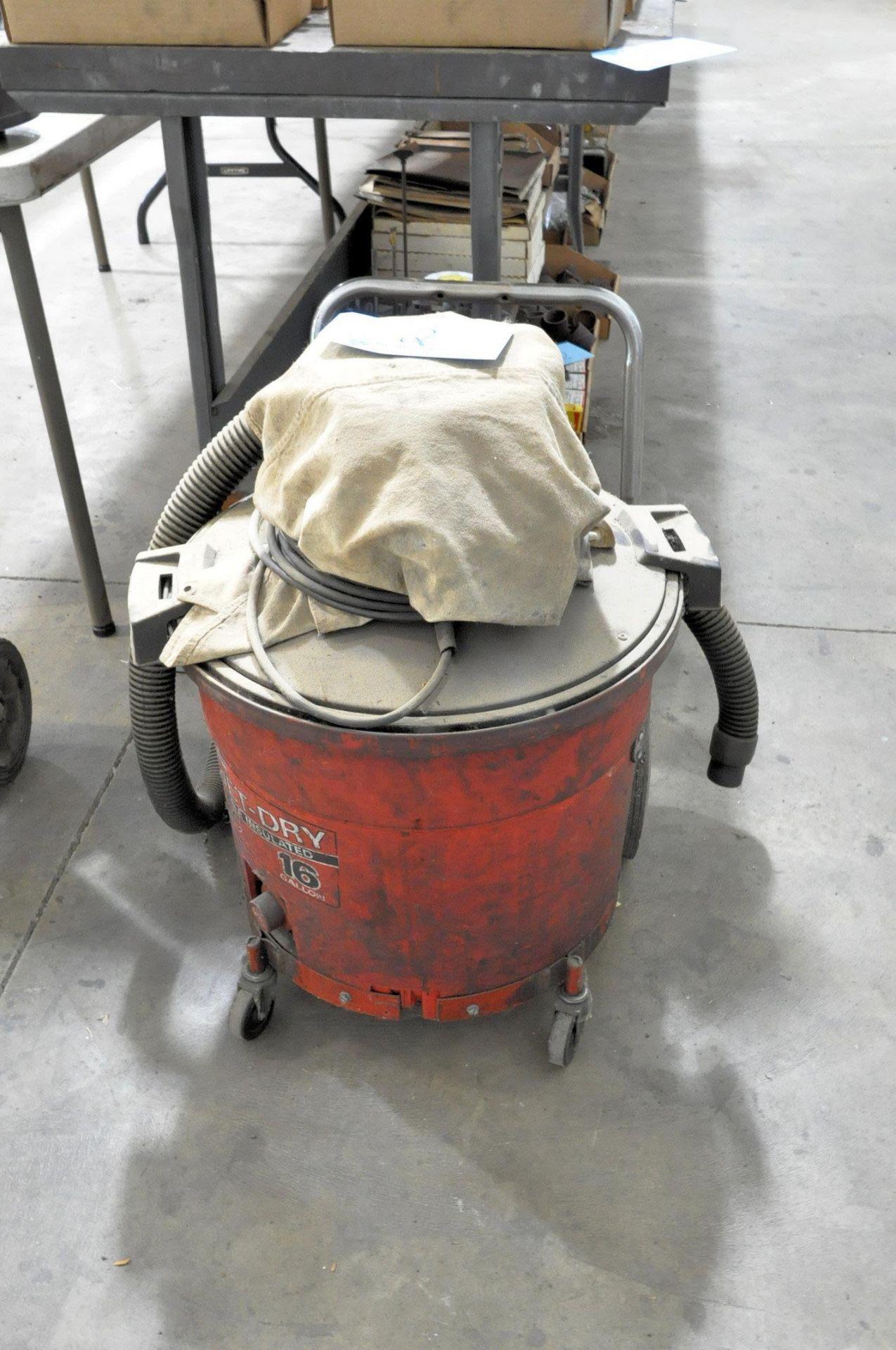 Lot 2 - SEARS CRAFTSMAN 16-Gallon Wet/Dry Vacuum