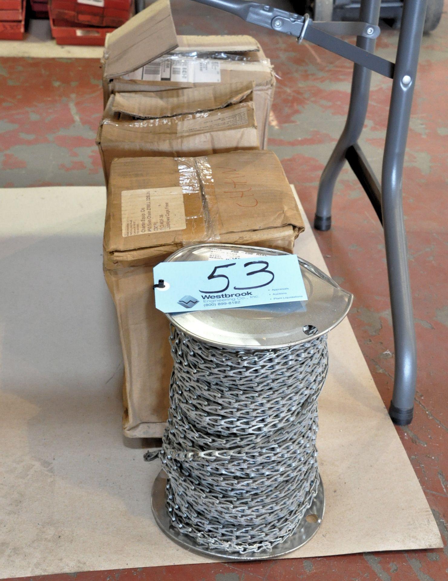 Lot 53 - Lot-(4) Spools Sash Chain