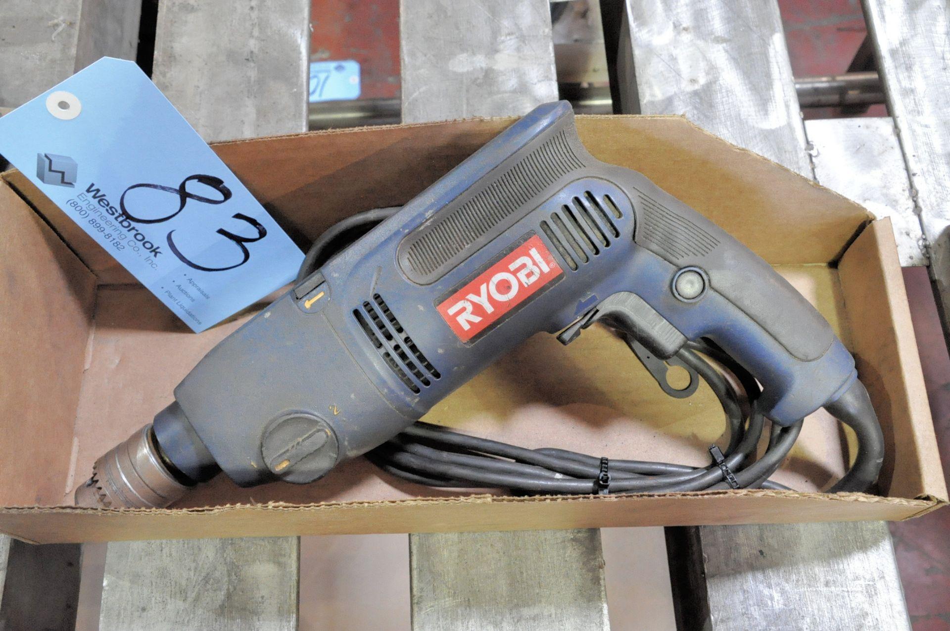 """Lot 83 - Ryobi 1/2"""" Electric Drill in (1) Box"""