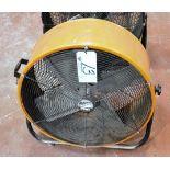 """Maxx Air Pro 24"""" Portable Drum Fan"""