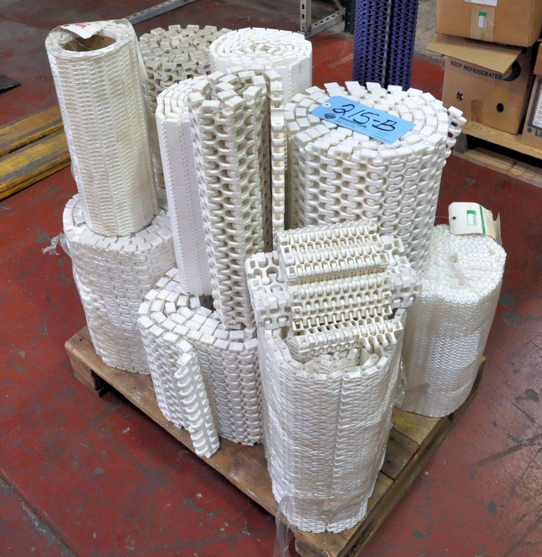 Lot 215B - Lot-PVC Mesh Conveyor Belt Materials on (1) Pallet