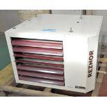 Reznor Model UDAP250, 250,000 BTU Industrial Forced Air Hanging Gas Furnace