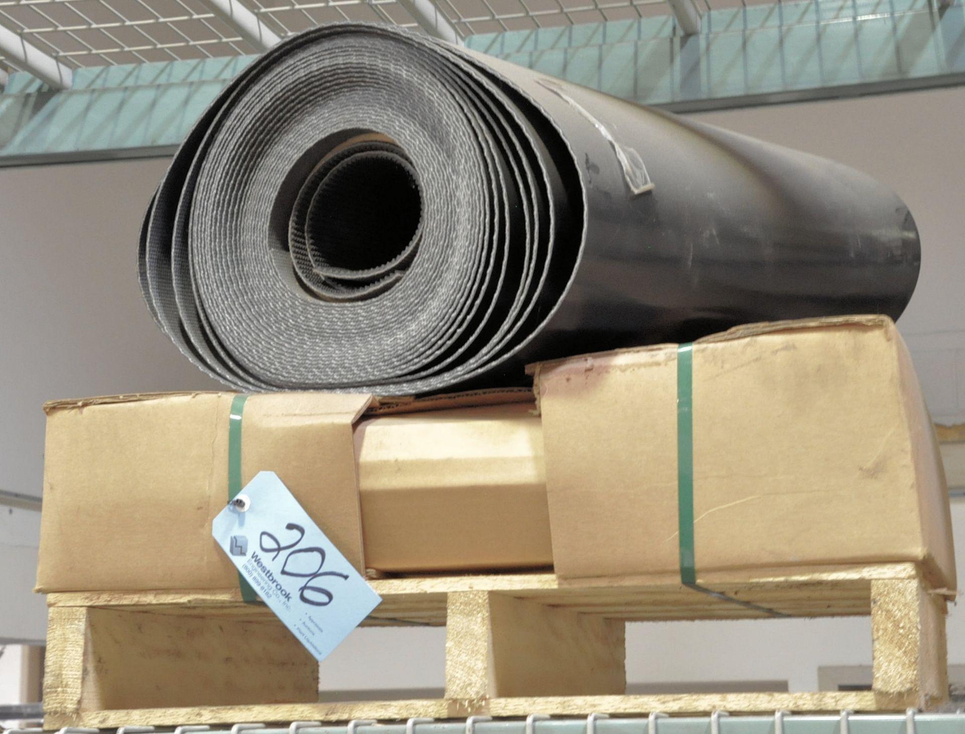 Lot 206 - Lot-Conveyor Belt Materials on (1) Pallet