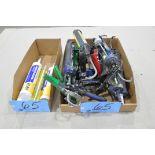 Lot-Caulk Guns and Adhesives in (2) Boxes