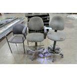 Lot-(3) Office Chairs