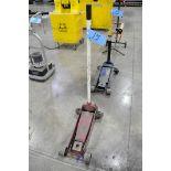 Approx. 1 1/2-Ton Capacity Hydraulic Floor Jack