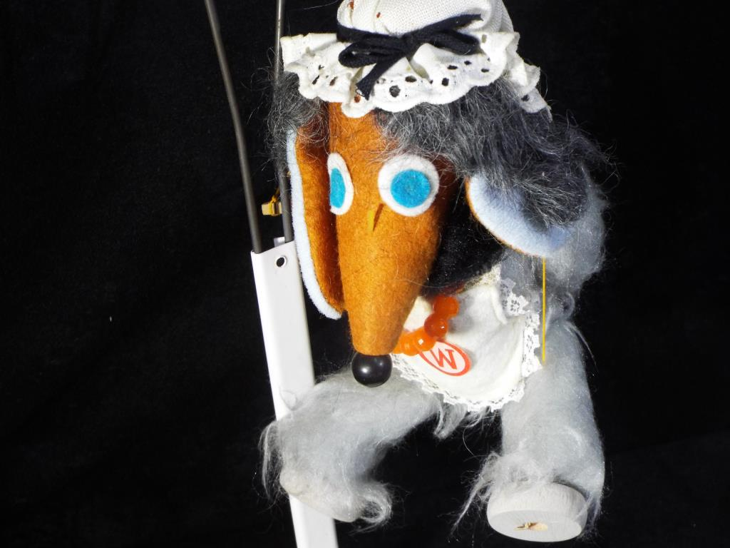 Lot 12 - Pelham Puppets - the Wombles a boxed Pelham puppet of Wellington Womble dated 1973 with six control