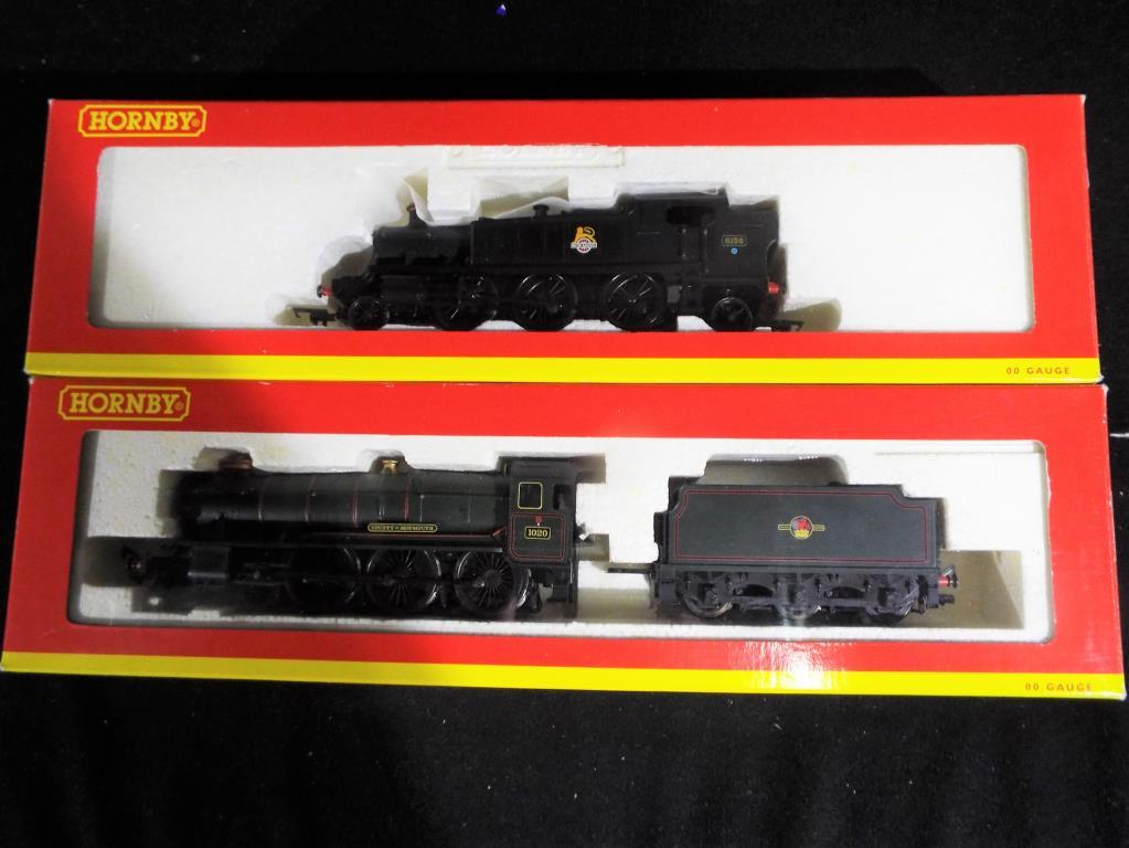 Lot 9 - Model Railways - two Hornby steam locomotives R2213A B.R.