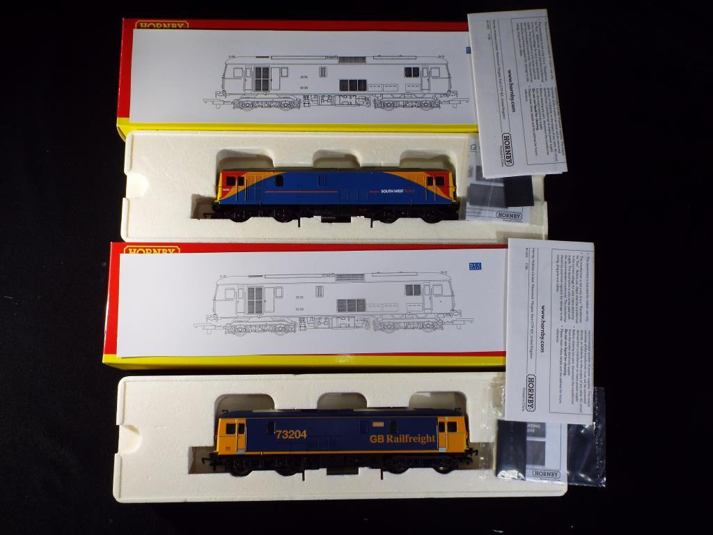 Lot 24 - Hornby - Two boxed OO gauge Diesel electric locomotives.