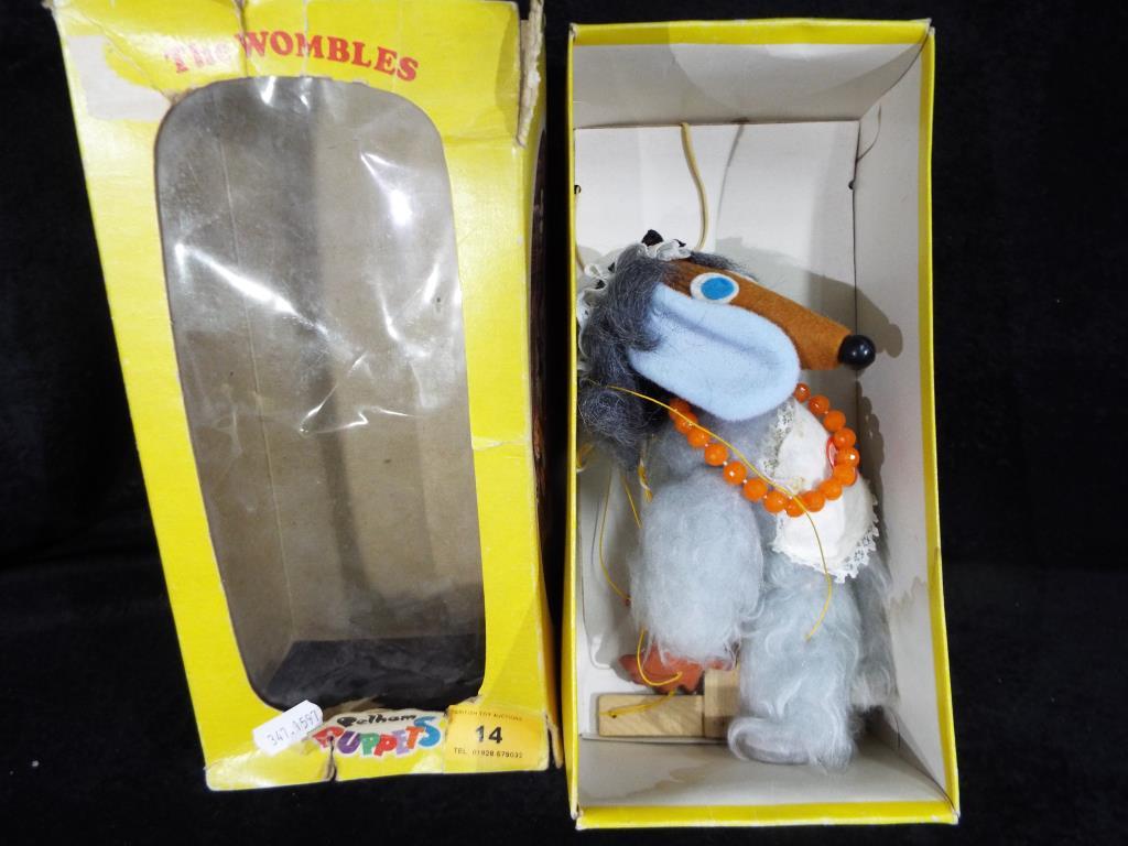 Lot 14 - Pelham Puppets The Wombles - a boxed Pelham Puppet Madame Sholet.