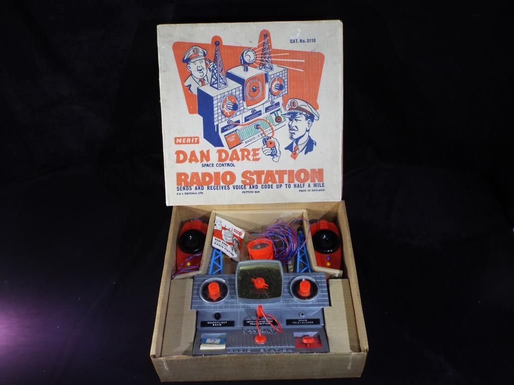 Lot 6 - Merit - A boxed Dan Dare Space Control Radio Station.