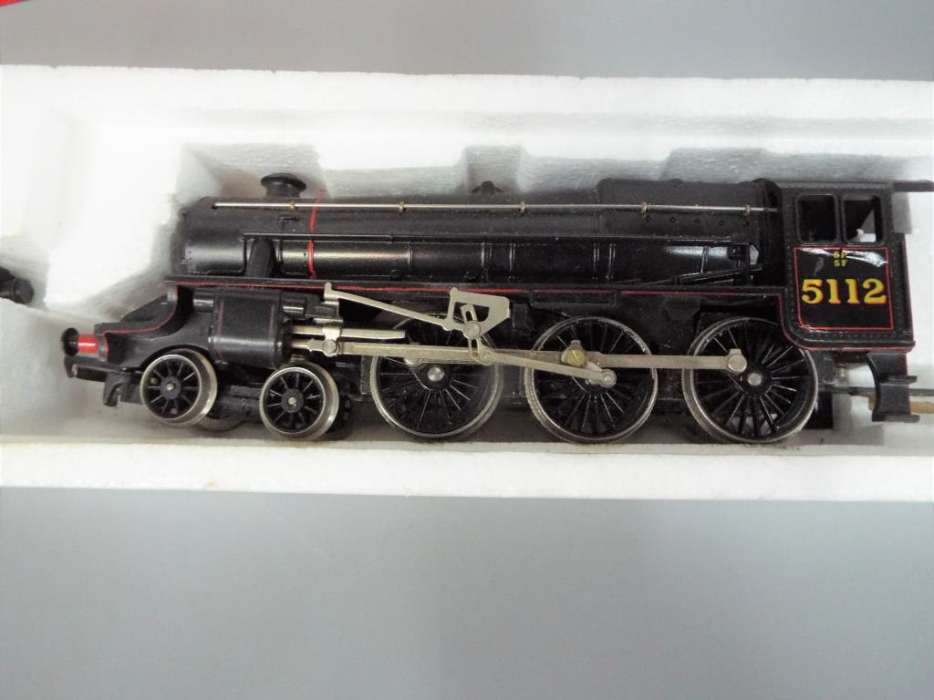 Lot 29 - Hornby - A boxed Hornby OO gauge R061 4-6-0 Class 5P5F steam locomotive and tender.Op.No.