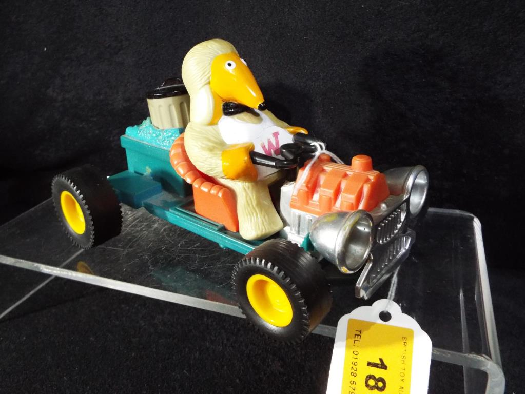 Lot 18 - The Wombles - Wombles car with Tomsk (unboxed) made in Hong Kong by Marx Toys in good condition.