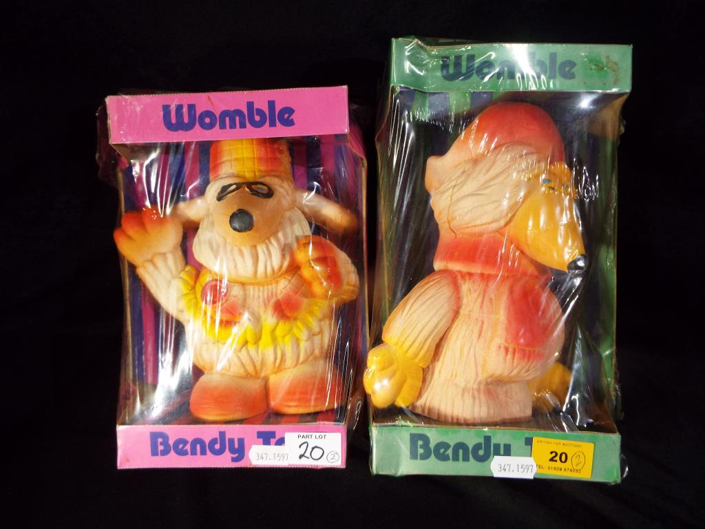 Lot 20 - Wombles - a collection of two bendy toys Wombles to include Great Uncle Bulgaria,