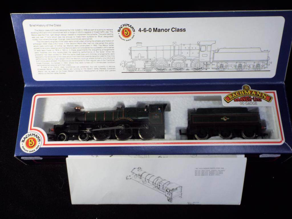 Lot 36 - Bachmann - A boxed OO Gauge No.30-302 4-6-0 Steam Locomotive and Tender. Op.No.