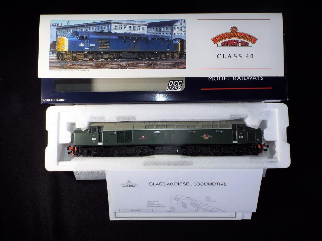 Lot 49 - Bachmann - A boxed DCC Ready OO Gauge No.32-478 Class 40 Diesel Locomotive. Op.No.