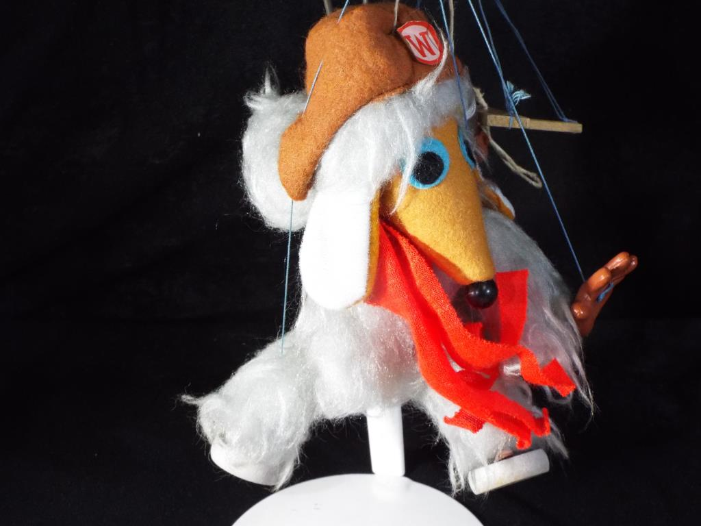 Lot 15 - Pelham Puppets The Wombles - a boxed Pelham Puppet of the Womble Orinoco.