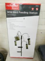 Lot 41 - A new wild bird feeding station with feeders