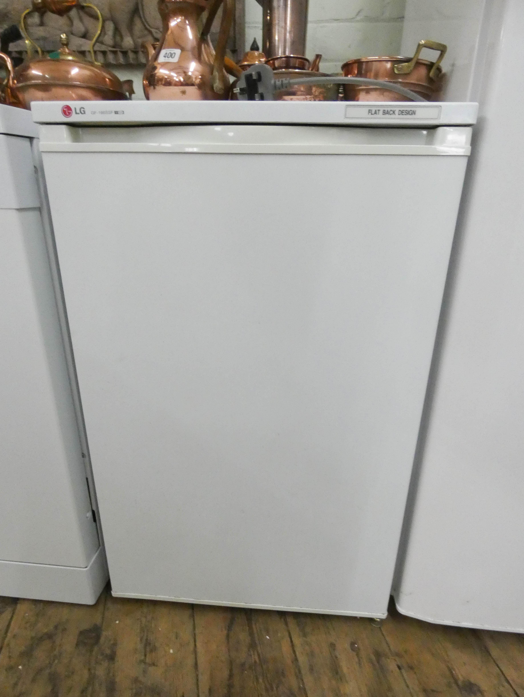 Lot 12 - A work top height LG freezer