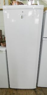 "Lot 13 - A tall Beko A Class fridge 58"" high"