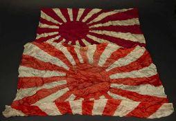 Drapeaux japonaisComprenant un drapeau en tissu coton imprimé, sans marquages visibles, indication