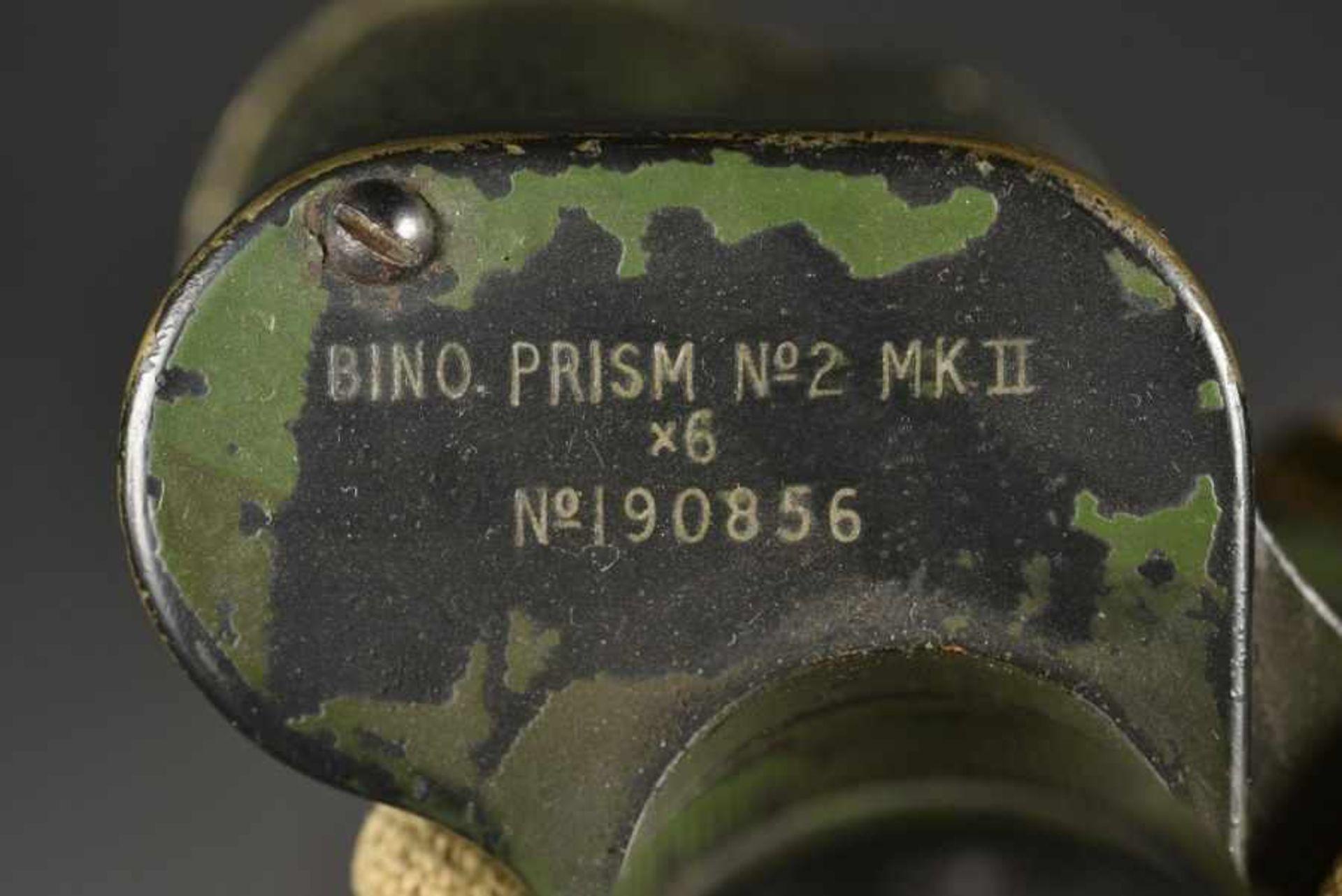 Jumelle du parachutiste britannique DS Catlin de la 6ème Airborne. A pair of binoculars belonging to - Bild 4 aus 4