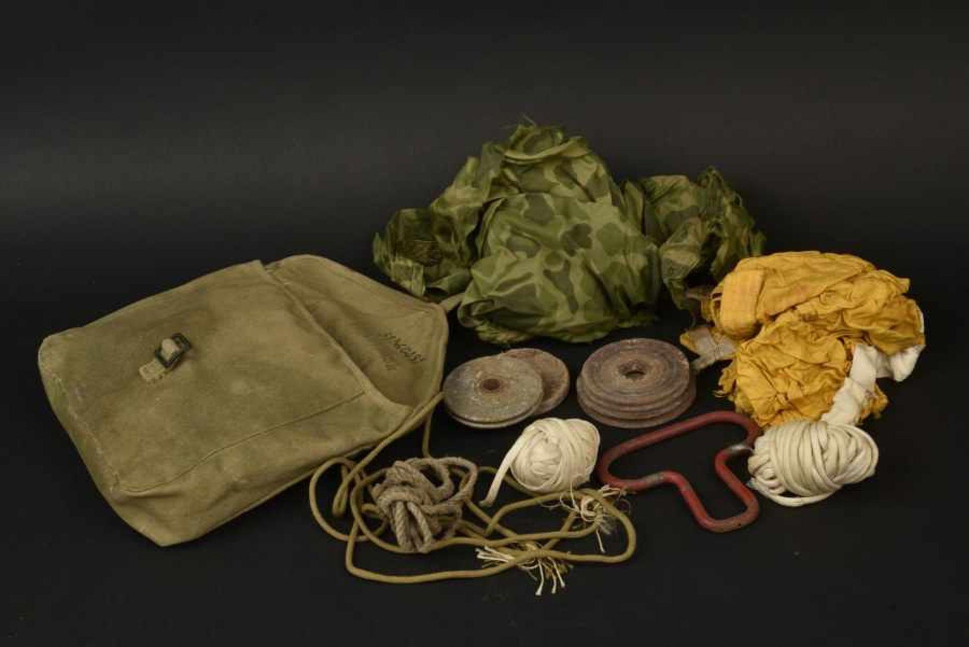 Los 15 - Ensemble d'équipement du parachutiste Dahlquist Arne du 325ème GIR de la 82ème Airborne. Paratrooper