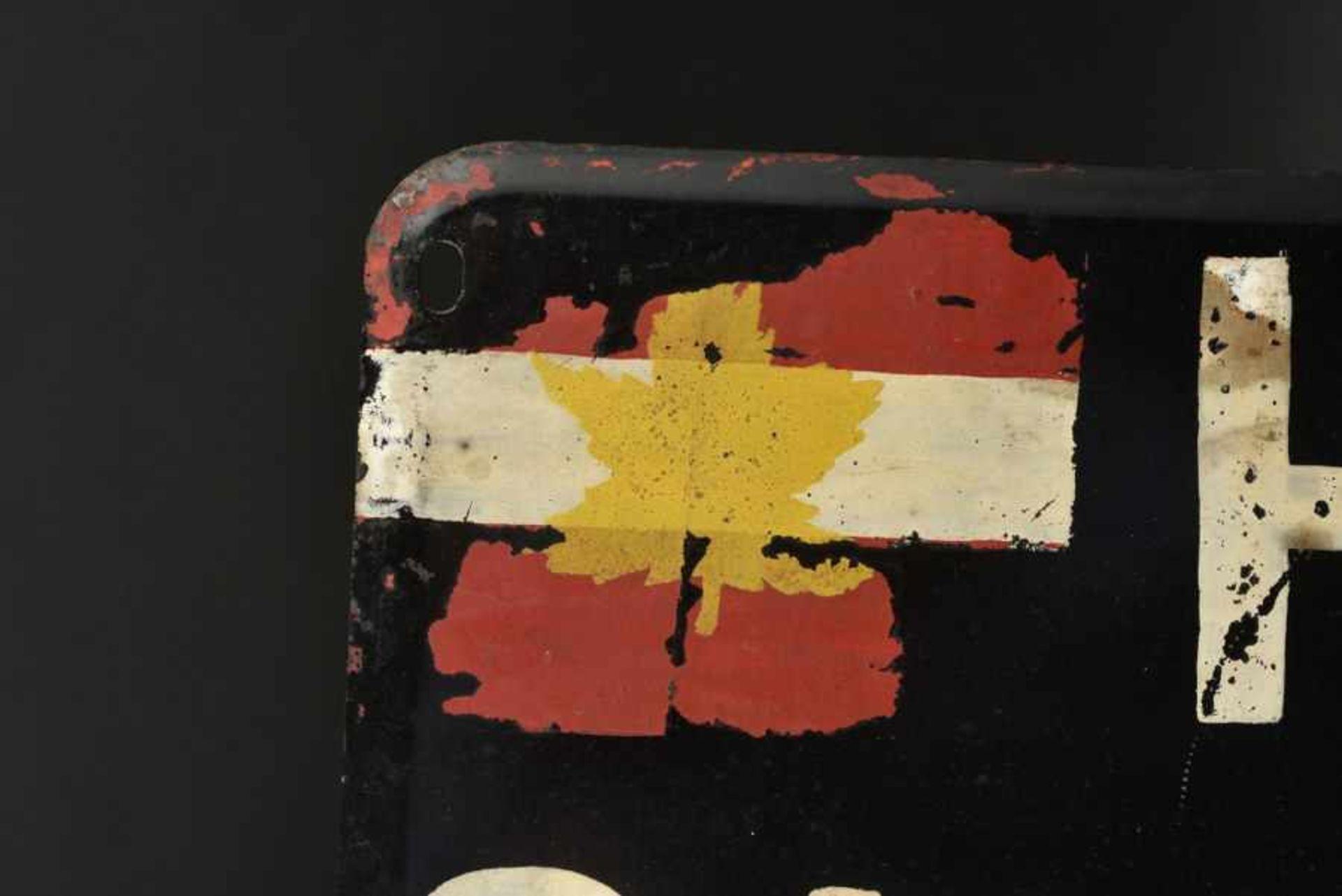 Panneau de l'Etat Major du Général Simonds commandant du 2nd canadian Corps. Staff HQ Panel , - Bild 2 aus 4