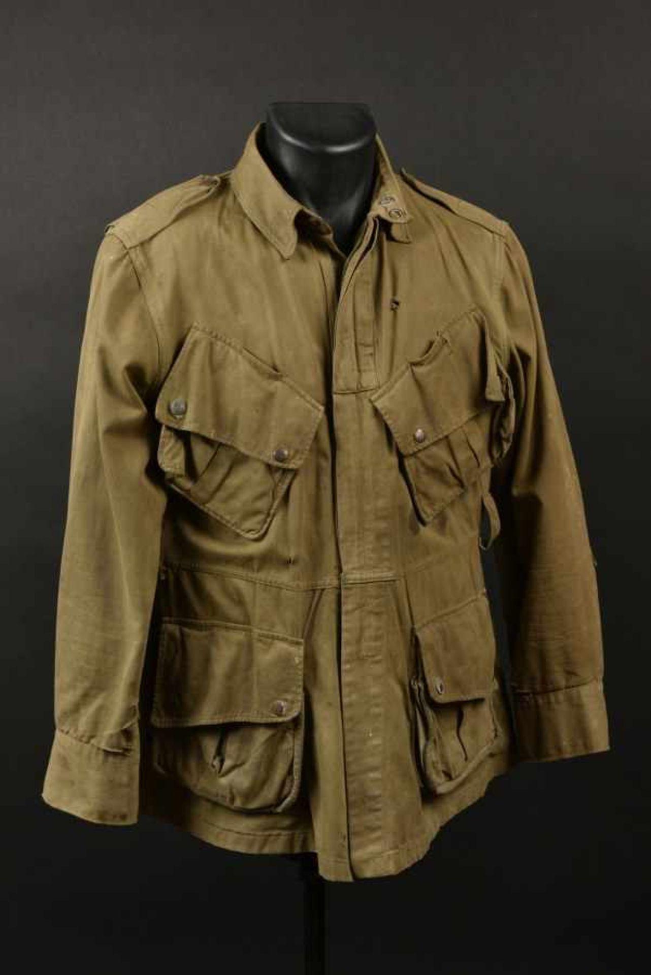 Veste à renfort du parachutiste John W Rabencraft du 507th PIR de la 82ème Airborne. Reinforcement