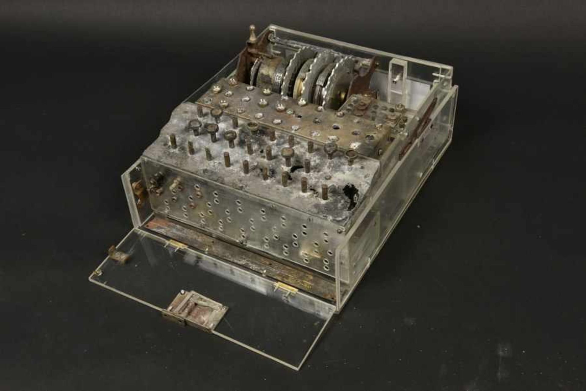 Enigma de fouille provenant de Bas Aubry pouvant être attribuée à la 10ème Panzer SS Division