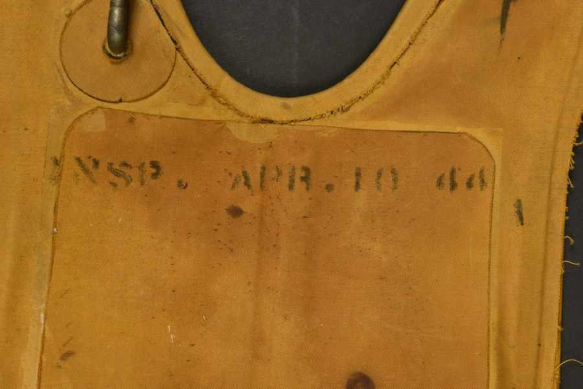 Gilet de sauvetage B-4 du 501ème PIR de la 101ème Airborne B-4 life jacket of the 501th PIR of the - Bild 4 aus 4