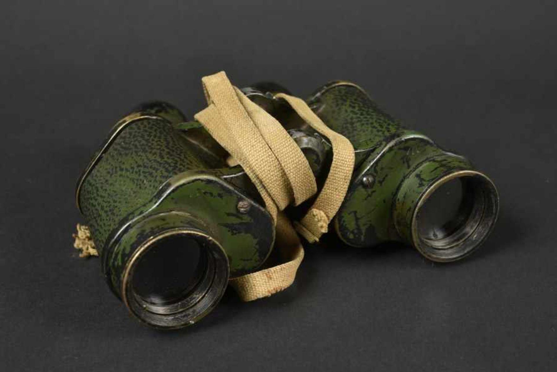 Jumelle du parachutiste britannique DS Catlin de la 6ème Airborne. A pair of binoculars belonging to
