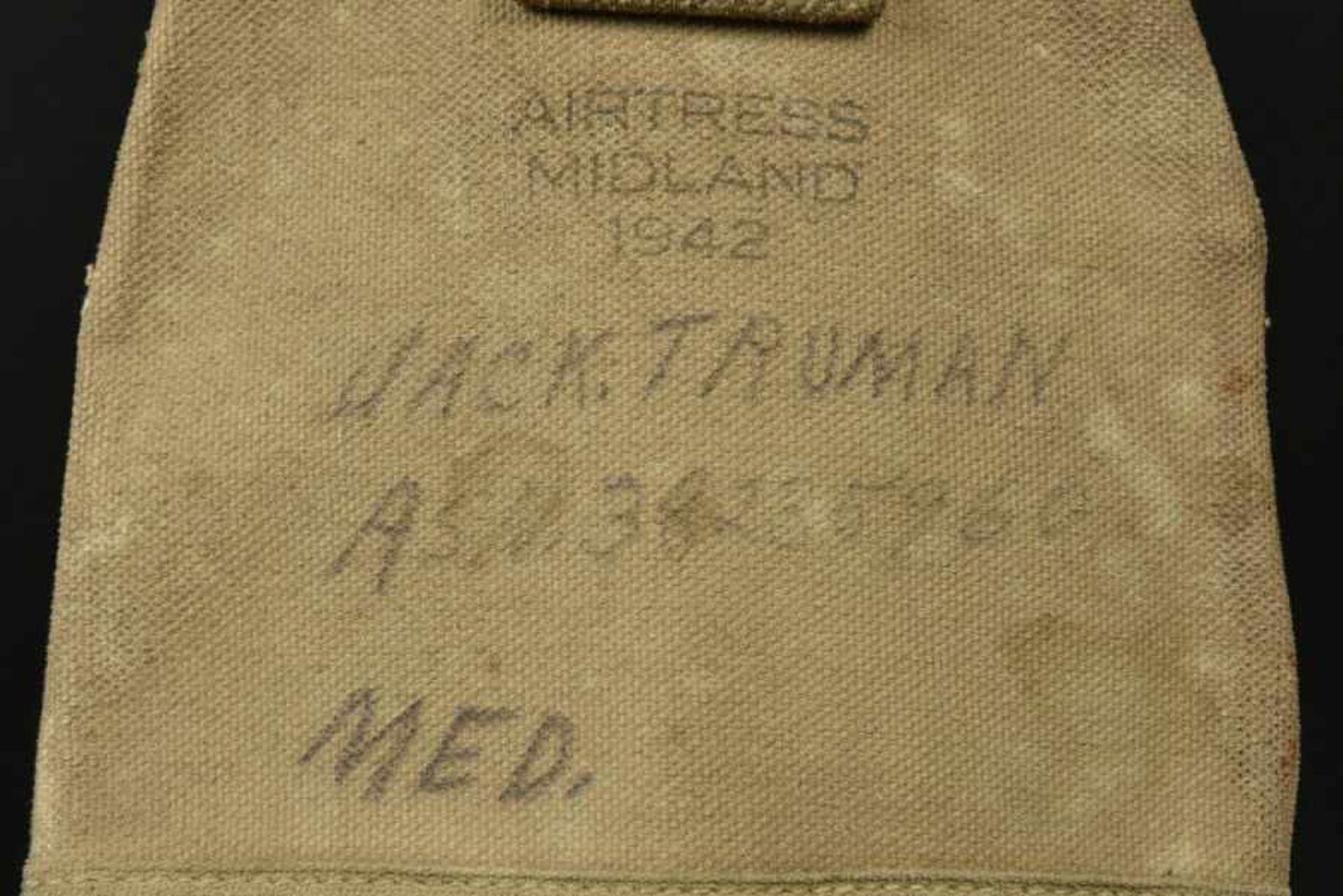 Pelle de l'infirmier parachutiste Jack Truman. Shovel belonging to paratrooper medic Jack - Bild 3 aus 4