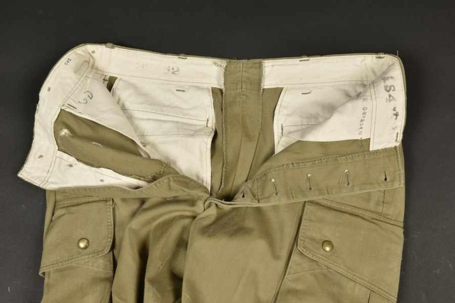 Pantalon du parachutiste américain B Orsborn. Pants of American paratrooper B OrsbornEn popeline, - Bild 4 aus 4