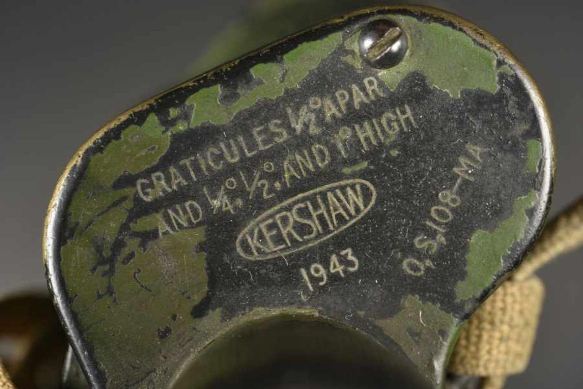 Jumelle du parachutiste britannique DS Catlin de la 6ème Airborne. A pair of binoculars belonging to - Bild 3 aus 4