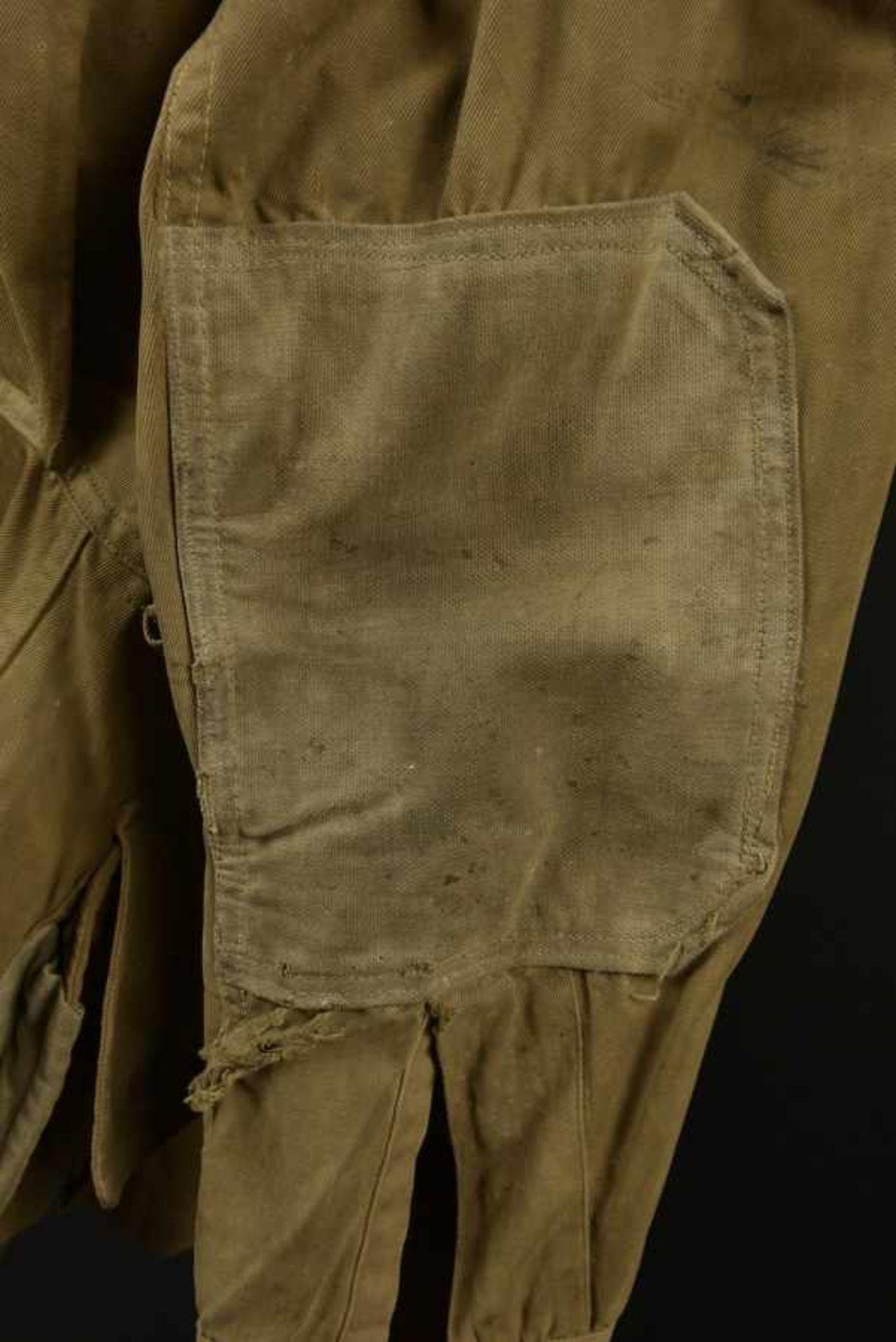 Veste à renfort du parachutiste John W Rabencraft du 507th PIR de la 82ème Airborne. Reinforcement - Bild 3 aus 4