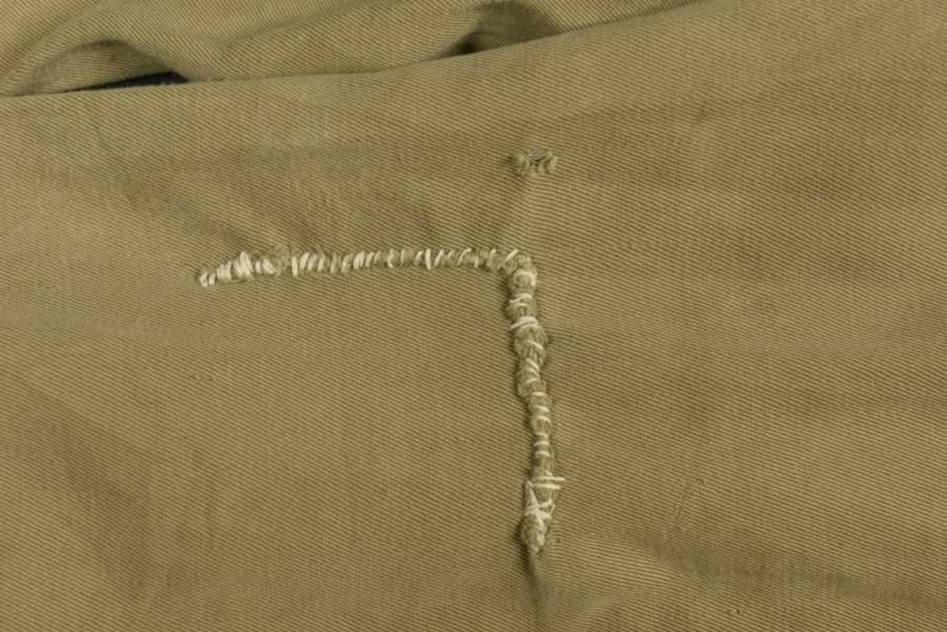 Pantalon du parachutiste américain B Orsborn. Pants of American paratrooper B OrsbornEn popeline, - Bild 2 aus 4