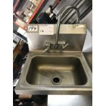 Lot 16 - JOHN BOOS - STAINLESS STEEL HAND WASH BASIN