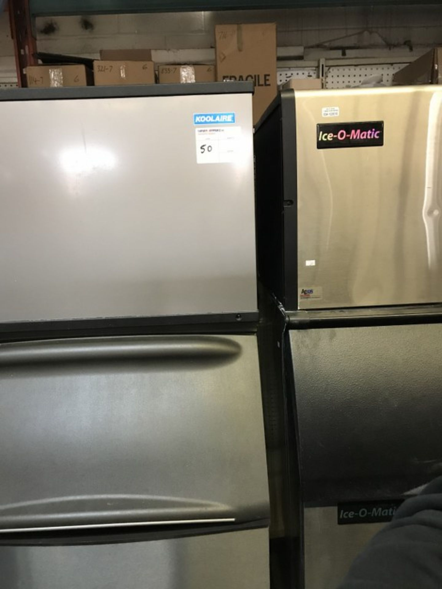 Lot 50 - KOOLAIRE - K SERIES ICE MACHINE