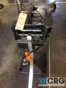 Rapid Aire coil unwinder/ feeder, model and serial unavailable, with 9 roll single plane wire