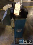 Rapid Aire coil unwinder/feeder, model SBX4, serial 124353