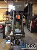 Johnson OBI Press, model 45B-PC, serial 62259,45 ton cap, mechanical clutch, 2 inch stroke, 3 inch R