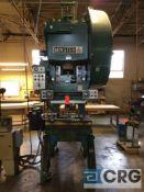 "Minster OBI Press, (flywheel"", 60 ton cap, air clutch, 3 inch stroke, serial 6-SS-24596,110-220"